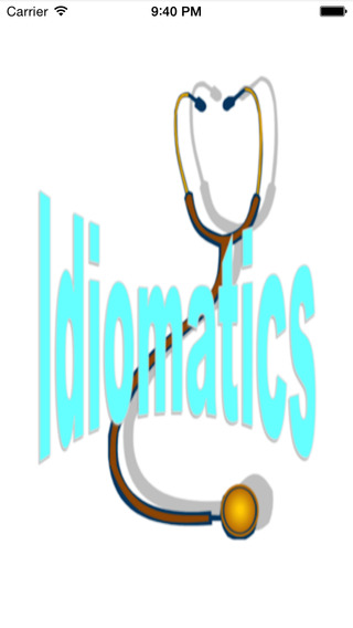 Nursing Idiomatics Basic