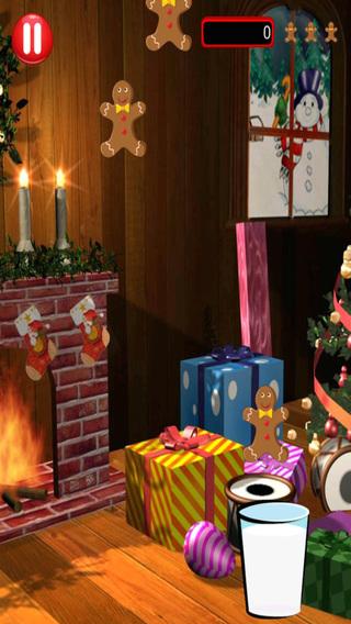 Holiday Gingerbread Man Milk Dunk - Fun Cookie Catching Rush
