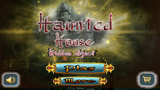 Haunted House Hidden Object