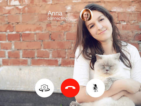 online chat and video call