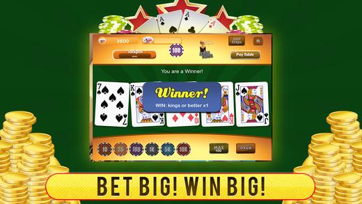 Ace Monte Carlo Double Diamond Video Poker PRO