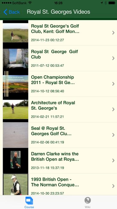 World Golf Views iPhone Screenshot 4