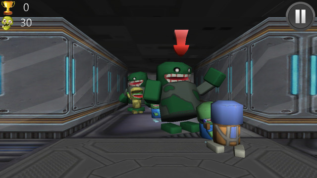 Space Zombie Massacre 3D: Invaders