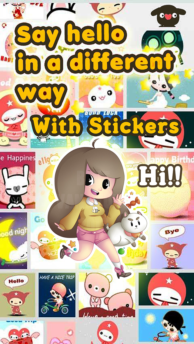 sticker chat free stickers for whatsapp messenger. Black Bedroom Furniture Sets. Home Design Ideas