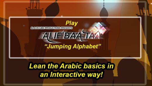 Alif Baa Taa Jumping Letters