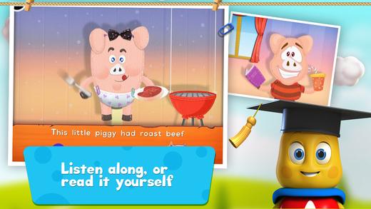Little Piggy: TopIQ Storybook For Preschool Kindergarten Kids FREE