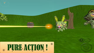 3D Animal Zombie Toon Sniper – Shoot & Kill to Defend or Die! Lite