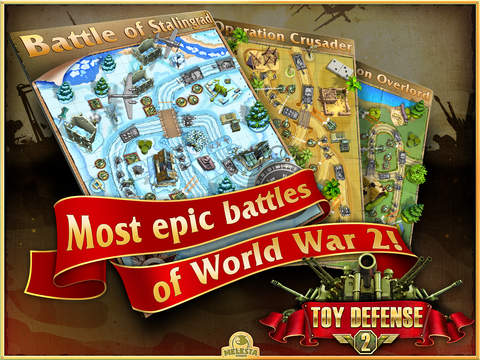 Screenshot #2 for Toy Defense 2 HD