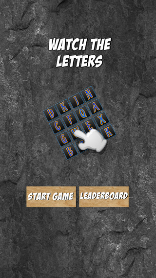 Watch The Letters - Alphabet Puzzle Game