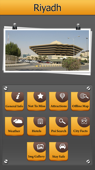 Riyadh Offline Map City Guide