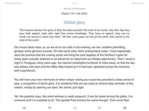New Daylight iPad Screenshot 1