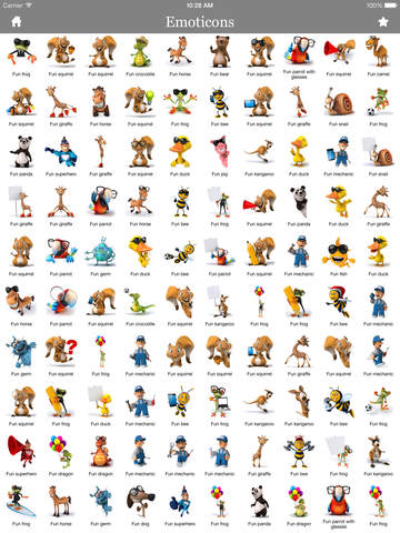 3D Emoji Characters Stickers for WhatsApp, Kik, LINE, BBM, IM+, Skype, Facebook Messenger, Twitter, WeChat, iMessage and other Chat apps