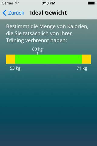 Tanis Health Calculator screenshot 4
