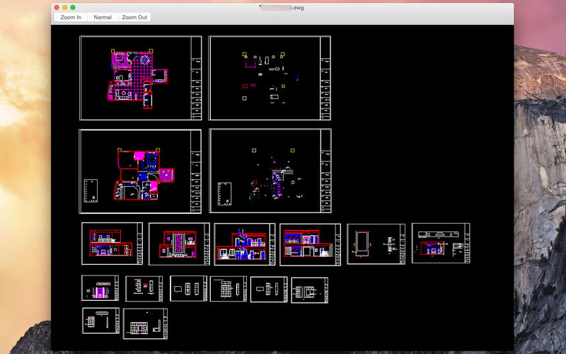 DWG File Viewer Screenshot - 4