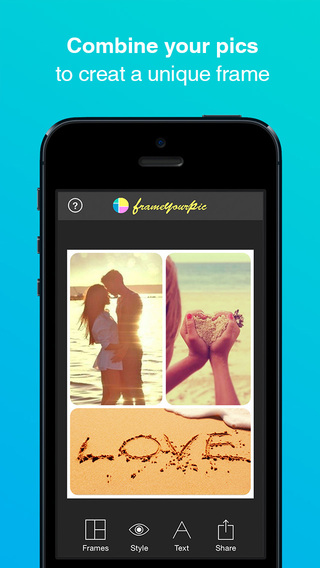 Frame Your Pic - Design Images with Picture Collage Maker Photo Editor