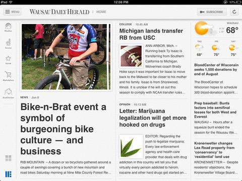 Wausau Daily Herald for iPad