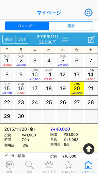 Myパチ収支表 みんなの収支を見れる収支簿|玩財經App免費|玩APPs