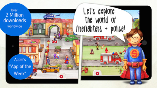 Tiny Firefighters - Police and Firefighters Activity Book
