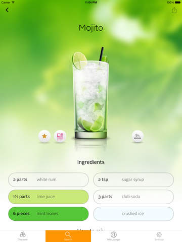 Cocktail Flow screenshot