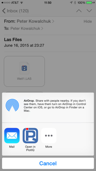 PlotIQ LAS file viewer