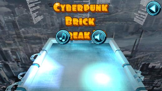 Cyberpunk Brick Break 3D