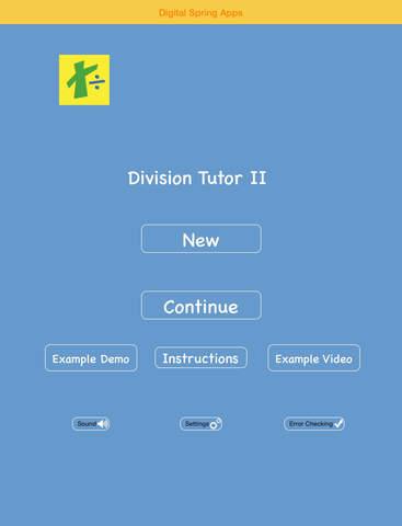 Division Tutor II