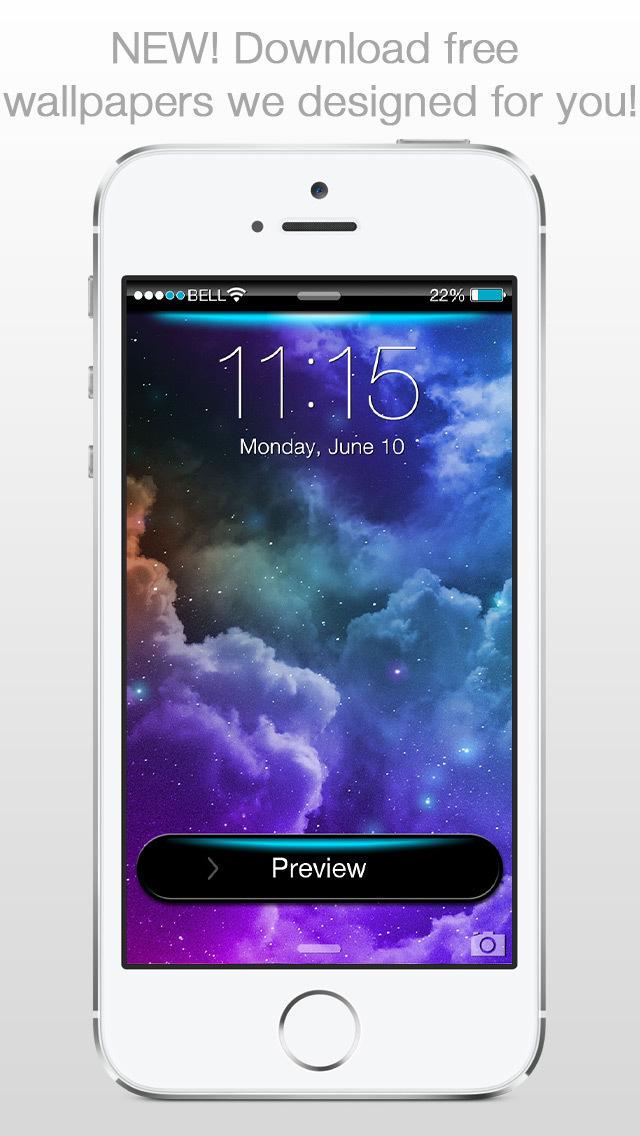 Screenshot for Lockster - Design your Lock Screen Background in Jordan App Store