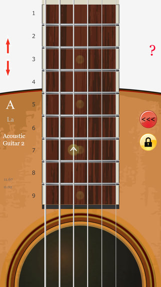 Guitar Simulator - Learn to play the Notes FREE