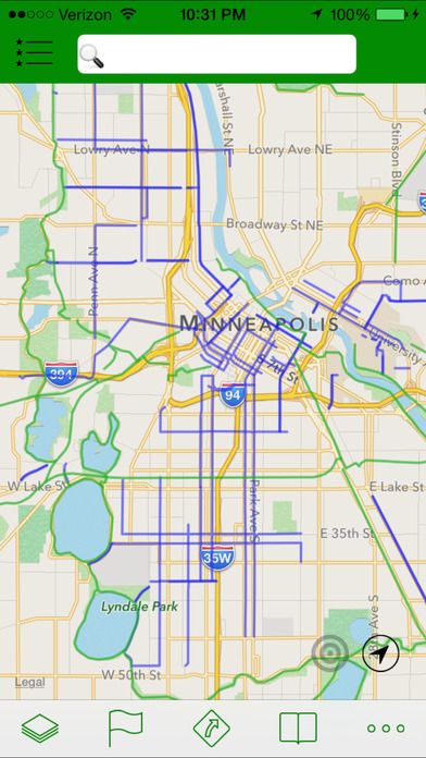 Minneapolis Bike App iPhone Screenshot 2