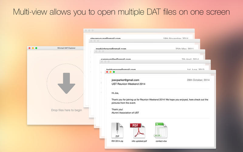 Winmail DAT Explorer – Winmail.dat 查看工具[OS X]丨反斗限免