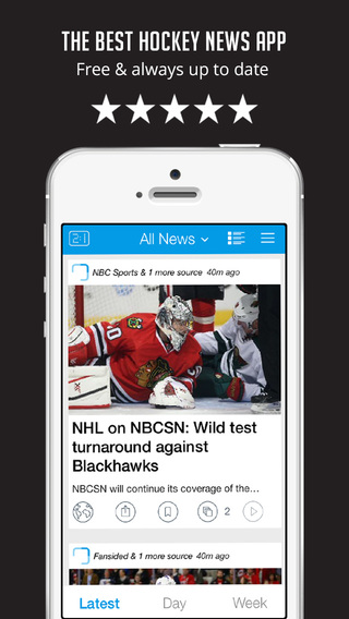 Sportfusion - NHL Hockey Unofficial News Edition - Live Scores Rumors Videos