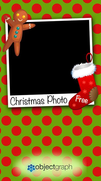Christmas Photo Free iPhone Screenshot 1
