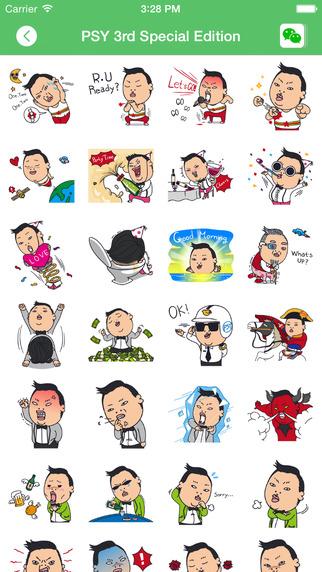 WeSticker - Sticker Emoji Emoticon Chat Icon for WeChat Weixin
