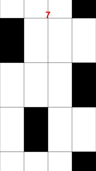 Touch The Black Tiles Only Free HD
