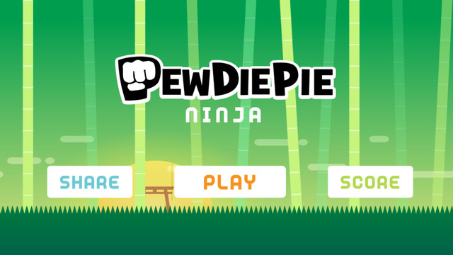 PewDiePie Ninja : Swing Hero