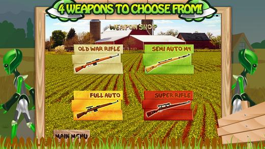Alien Farm Attack Sniper Game PRO