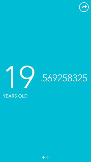Age Count - Real-Time Age Birthday Counter