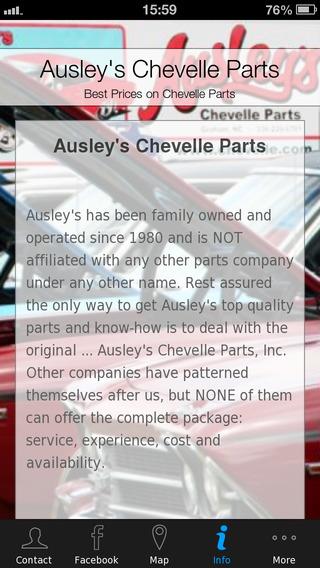Ausley's Chevelle Parts