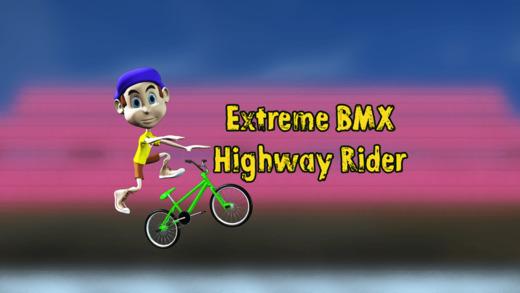 Extreme BMX Highway Rider Pro - Cool speed street racing game
