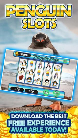 AAA Happy Big Feet Lucky Penguin-Iceberg Fish Slots Free