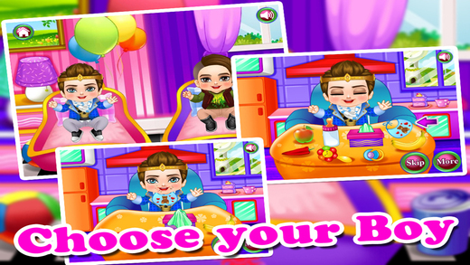 Baby Care - Cleaning Makeover DressUp