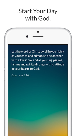 Amen. – The best app to start your day with God.
