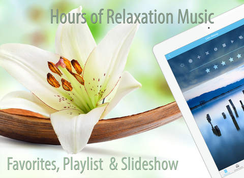 Free Relaxing Sounds Of Nature and SPA Music to Reduce Stress & Anxiety, Power Nap,Yoga & Meditation, Massage Therapy, Insomnia Relief & Better Sleep screenshot