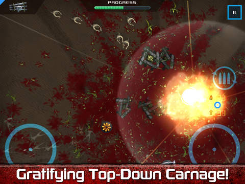 Crimsonland HD iPhone iPad