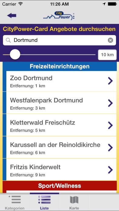 CityPower mobil iPhone Screenshot 3