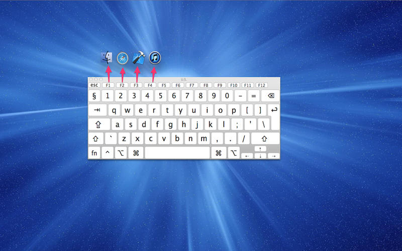 MySwitch - 使用 F1、F2 等功能键快速切换程序[OS X]丨反斗限免
