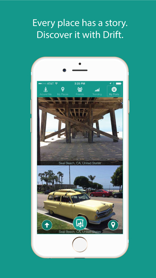 Drift - Every place has a story. Discover it with Drift.