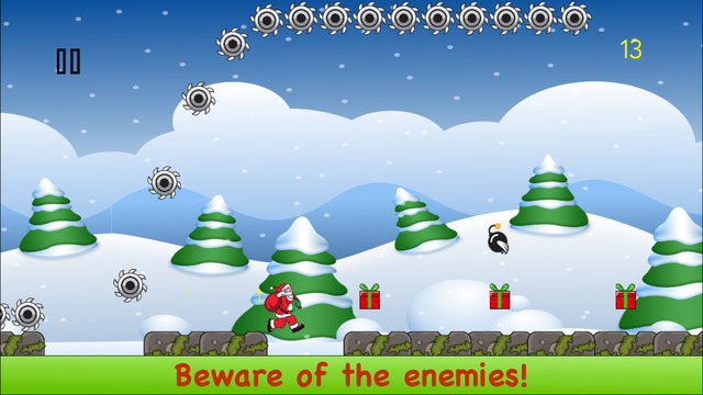 Santa Claus Run - Impossible and Fun Christmas Dash Game