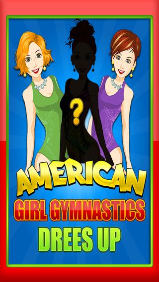 American Girly Girl Gymnastics Outfit Dress-Up : Modern Princess Fashion Stylist Pro