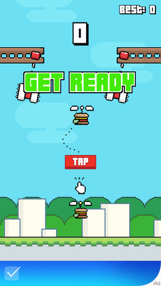 King Burger Copter - Hilarious Hard Game